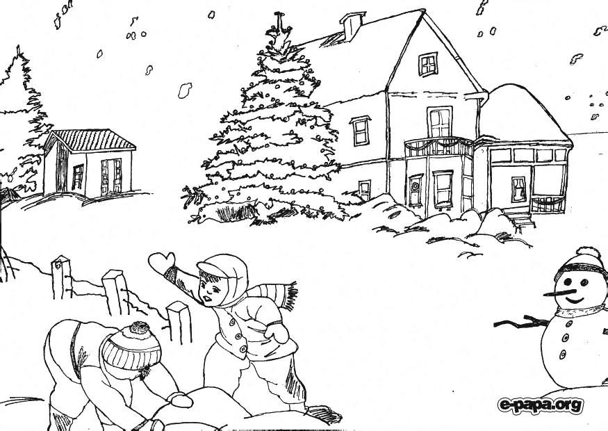 Kolorowanki Dla Dzieci Boże Narodzenie
