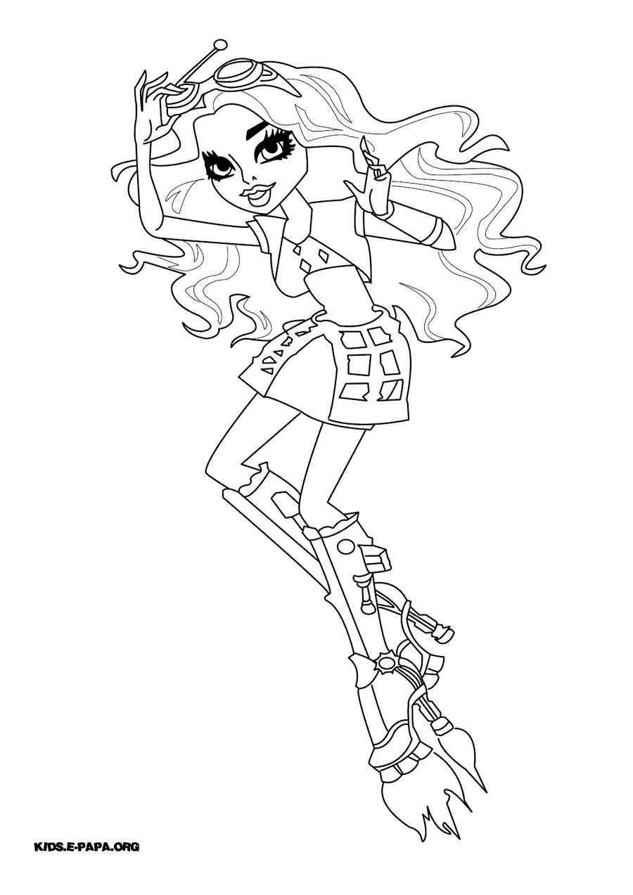 Monster High Kolorowanki Monster High