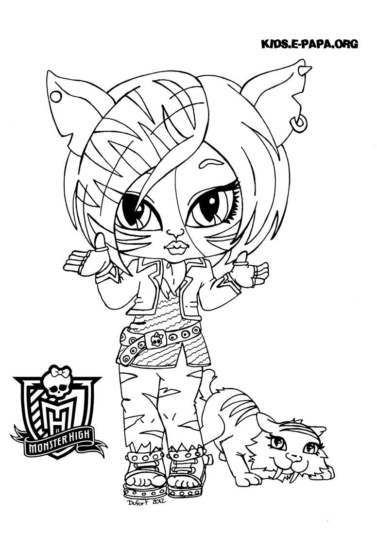 Toralei Stripe Kolorowanki Monster High