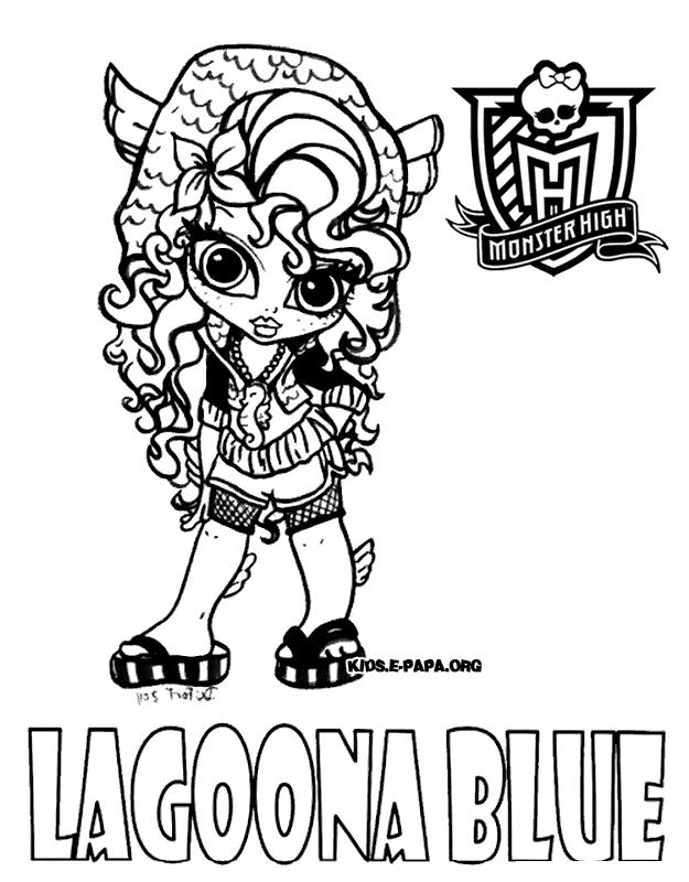 Lagoona Blue Kolorowanki Monster High