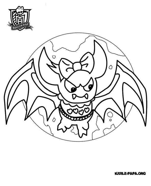 Count Fabulous Kolorowanki Monster High