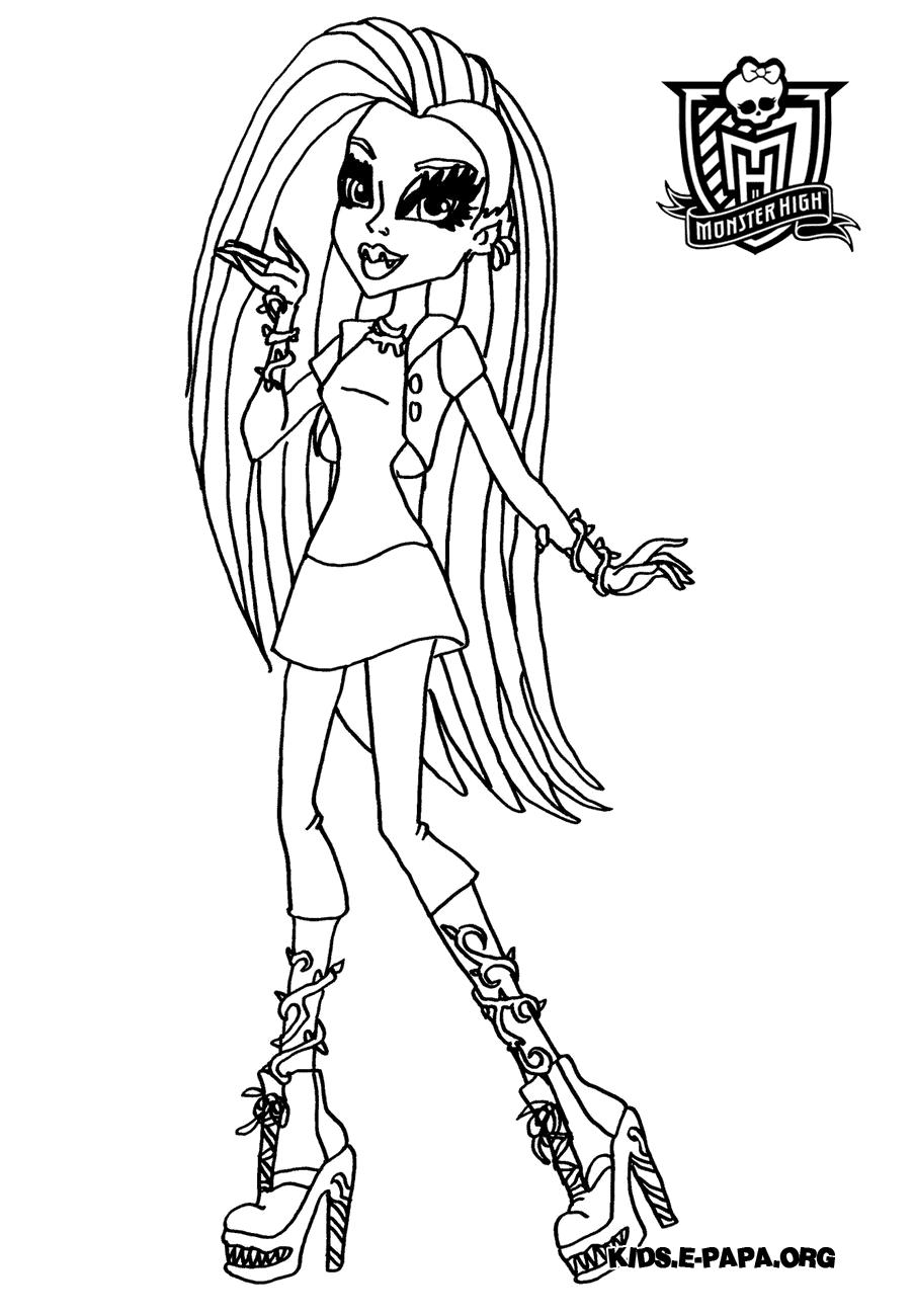 Venus McFlytrap Kolorowanki Monster High