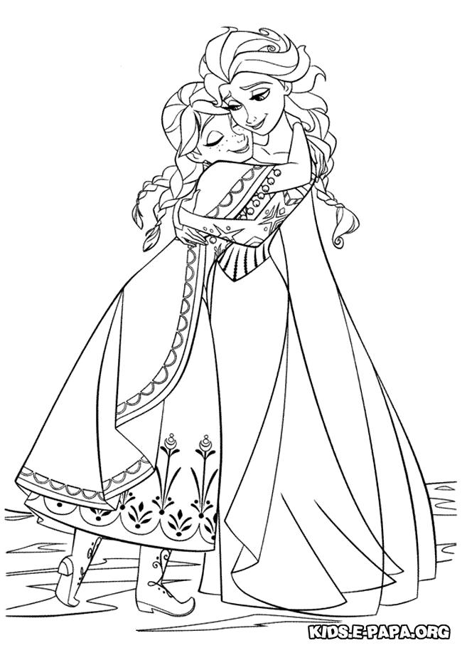 Malvorlagen Eiskönigin Elsa Und Anna My Blog