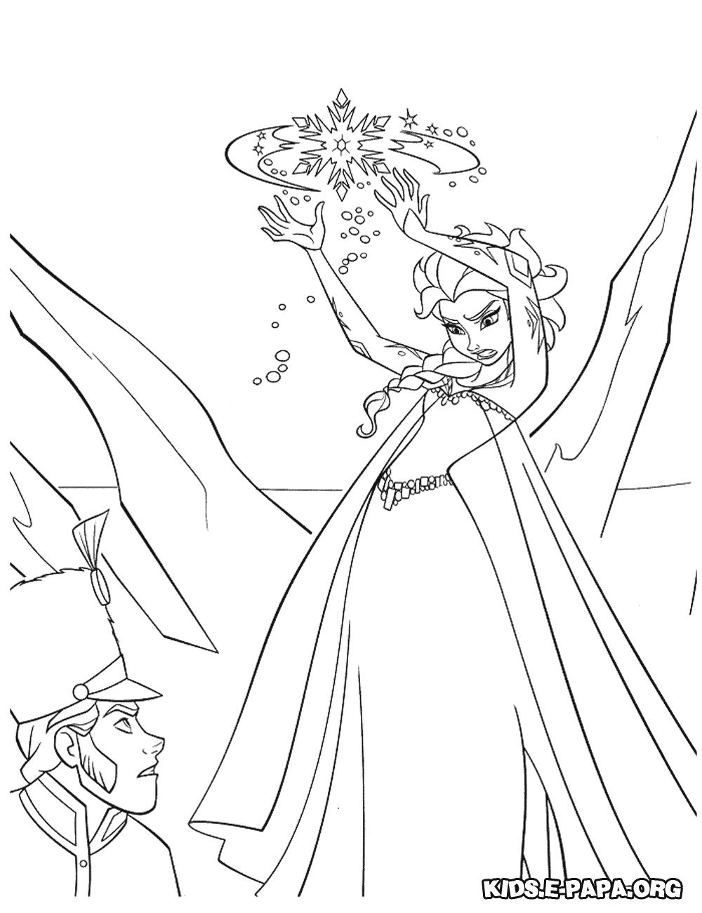 Kolorowanki Dla Dzieci Elsa