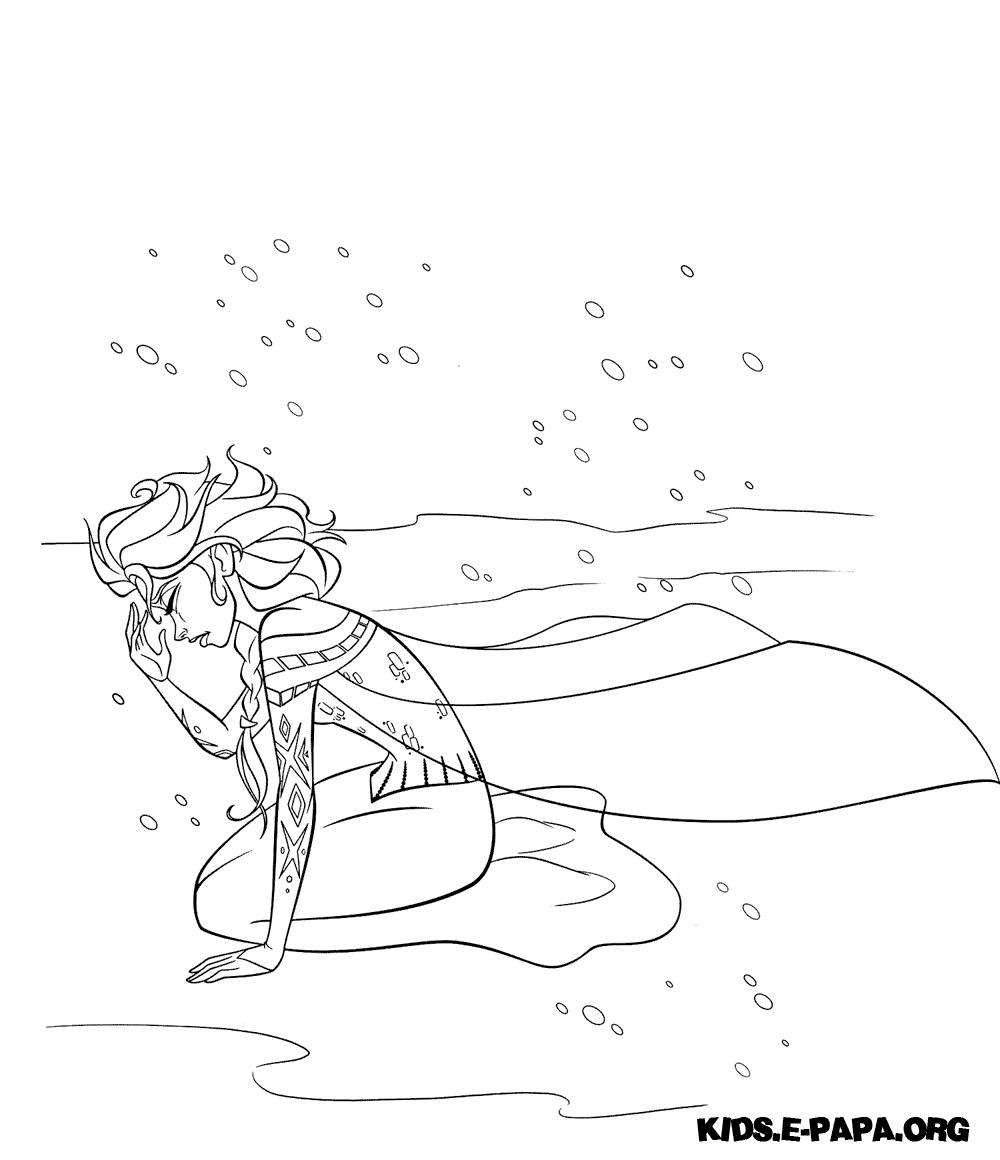 Olaf And Sven Coloring Pages Frozen Kraina Lodu Kolorowanki Do
