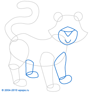 Jak narysowa tygrysa jak rysowa zwierz ta rysowanie dla - Apprendre a dessiner un tigre ...